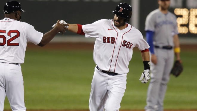 J.D. Martinez is one player who has hit well the last few days for the Boston Red Sox.