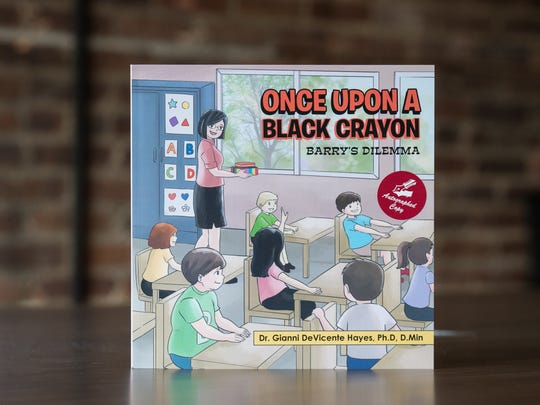 "A view of ""Once Upon a Black Crayon"" by Gianni DeVicente"