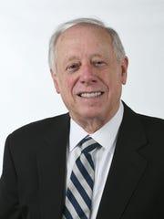 Gov. Phil Bredesen, candidate for retiring Sen. Bob Corker's seat, at the News Sentinel studio Thursday, April 5, 2018.