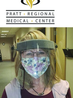 Despite concern about coronavirus spread, Pratt Regional Medical Center nursing administrative assistant Donna McEachern, along with all other PRMC staff, welcomed residents of Pratt County and beyond to the hospital's safety net during the pandemic. Strict protocols have been observed and continue to be monitored by a safety team of community leaders during the pandemic.