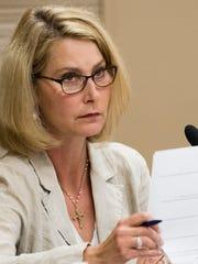 Montgomery School Board member Melissa Snowden during