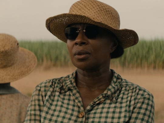 """Mary J. Blige is getting awards-season buzz for her performance in the new movie """"Mudbound,"""" debuting on Netflix Nov. 17."""