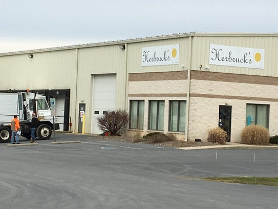 Herbruck's Poultry Ranch started shipping eggs in October