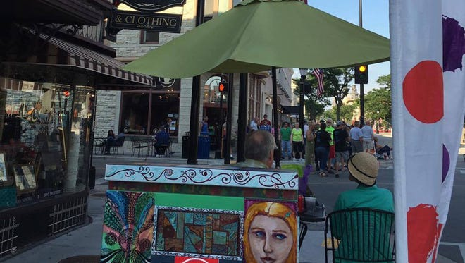 Waukesha's fall art crawl will be held for the 98th time from 4 to 10 p.m. Saturday, Oct. 7, in downtown Waukesha.
