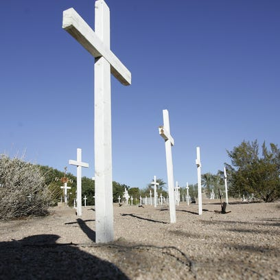 Who's buried in Phoenix?