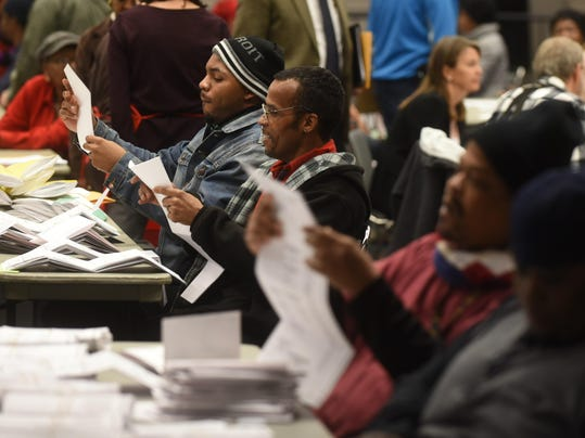 Records Too Many Votes In Of Detroits Precincts - Special report us precinct map