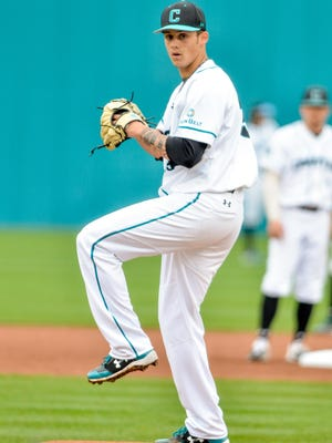 Zach McCambley, a 2017 Pocono Mountain East High School graduate, was selected by the Miami Marlins in the MLB draft with the 75th overall pick on Thursday, June 11.