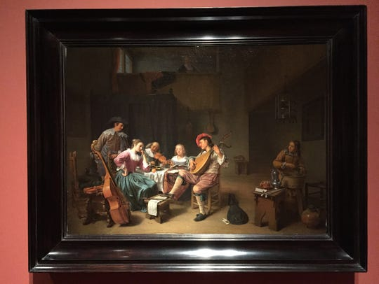 """Musical Company"" by Hendrick Maertenz Sorgh (1661)"