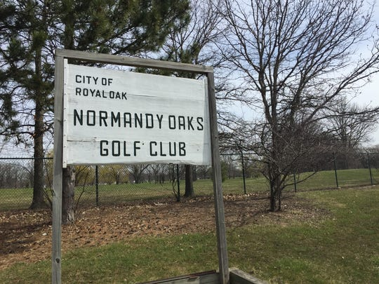 A 125-home residential development is planned for 10 acres of the former Normandy Oaks public golf course in Royal Oak, shown here in March 31, 2016.
