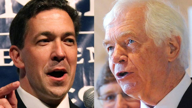 Chris McDaniel and Thad Cochran
