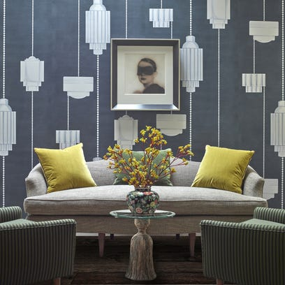 Homestyle: Patterns lead the way as wallcoverings surge