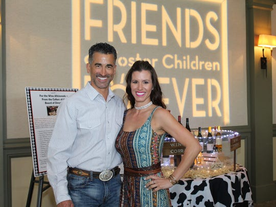 Rob Wilson and Rio DeArmond say they were honored to be the 2017 Boots and Boogie Bash chairs for Friends of Foster Children Forever.