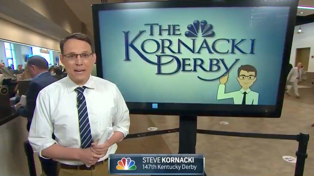 25 Kentucky Derby Steve Kornacki predicted Medina Spirit would ...