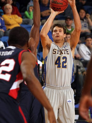 Jordan Dykstra helped SDSU reach two NCAA Division I tournaments.