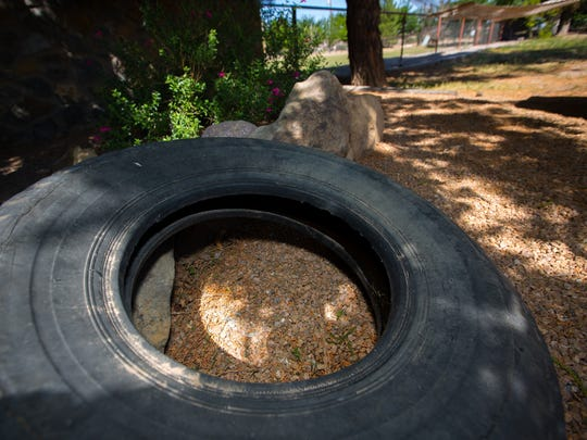 Old tires on a property can become a breeding ground