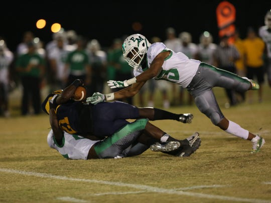 Fort Myers takes on Lehigh in high school football