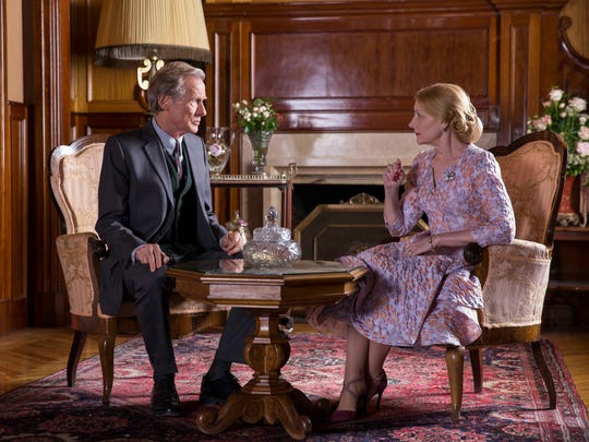 "Patricia Clarkson and Bill Nighy star in ""The Bookshop."""