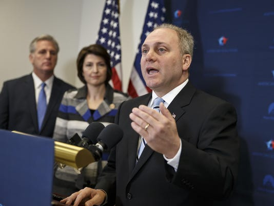 Kevin McCarthy, Steve Scalise, Cathy McMorris Rodgers