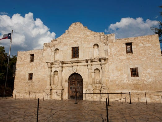 Besides the more famous Alamo – actually a nickname