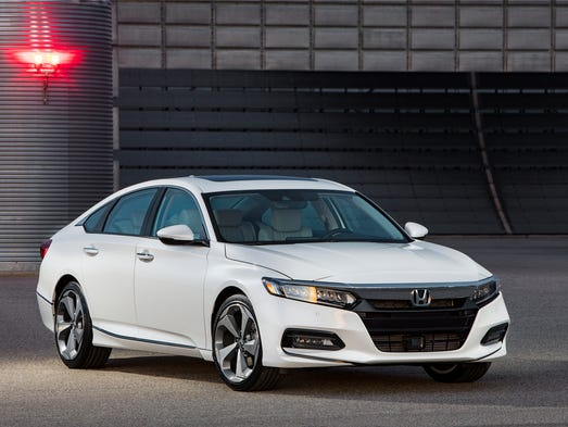 The 2018 Honda Accord.