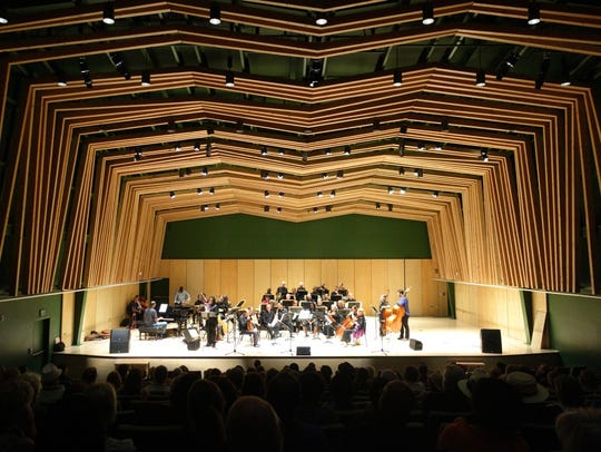 The William M. Lowman Hall had a preview performance