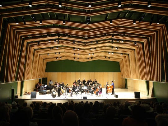 The William M. Lowman Hall had a preview performance Saturday at Jazz in the Pines. Its inaugural classical performance will be Sept. 24