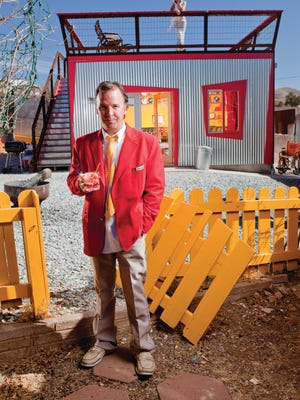 Long time comedian and Bisbee resident Doug Stanhope will record his podcast at the All Things Comedy Comedy Festival.