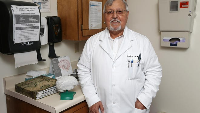Dr. Salvador Ceniceros, a Springfield physician, said it's not unusual for his clinic to get 20 calls a day from new patients seeking treatment.