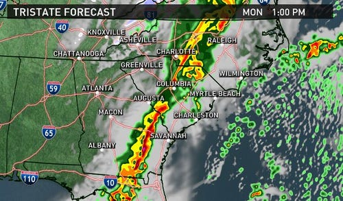 Tornado Watch Cancelled for the Midlands | wltx.com on