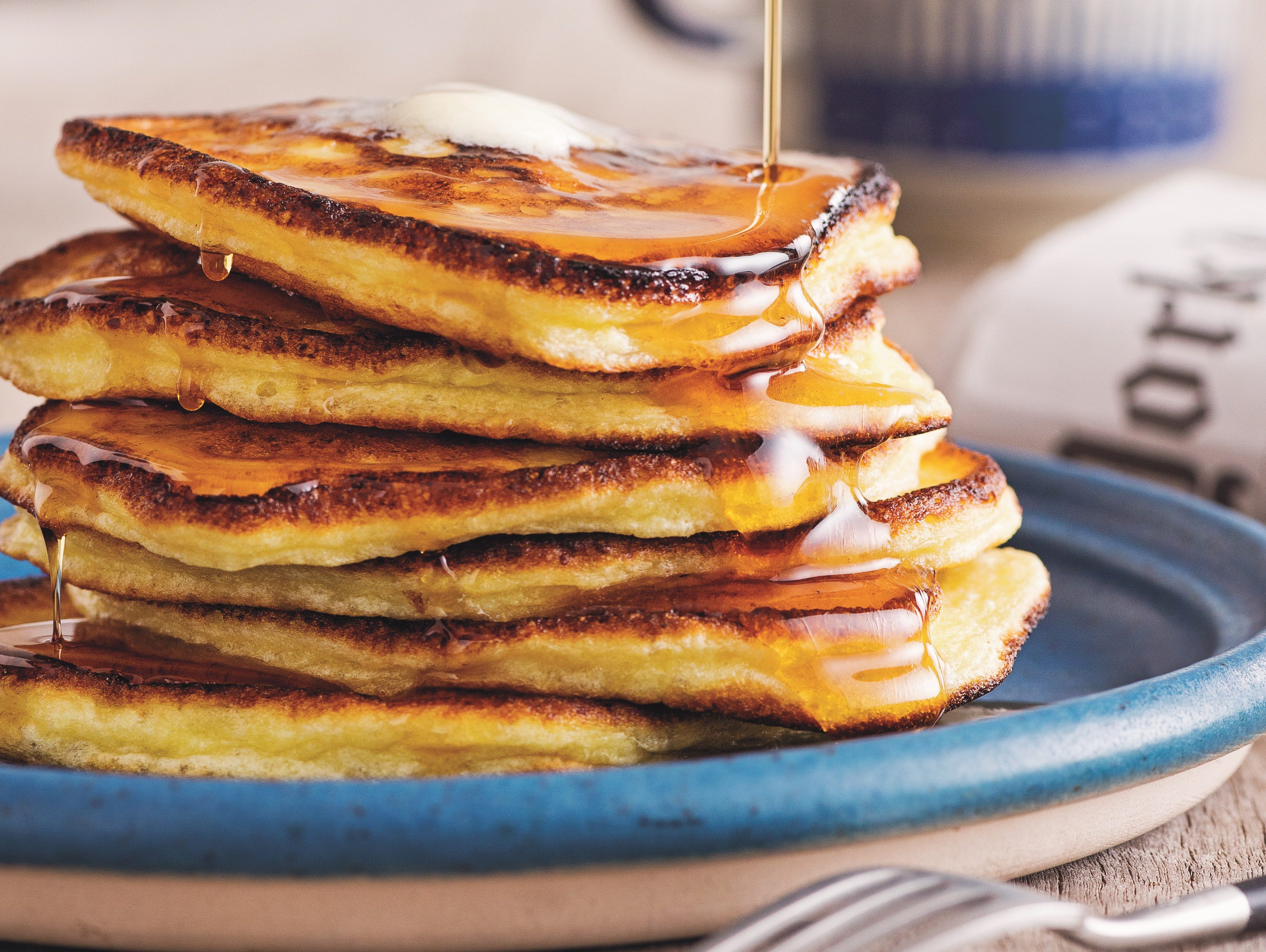 Start the school day off right with this delicious Lemon Ricotta Pancakes recipe.
