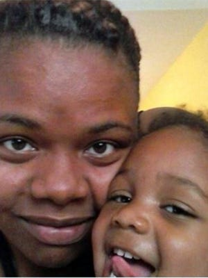 Dashavey McCamey and her daughter, Calvinyanna Sanders, 2, of LaGrange, Ga. Another child shot Calvinyanna on Jan. 4, 2016, while at the home of a friend.