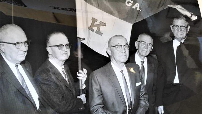 Last Man meeting in 1964.