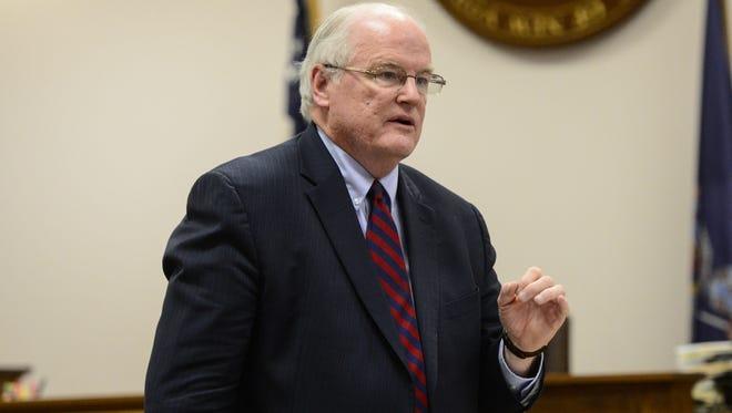 Broome County District Attorney Gerald Mollen.