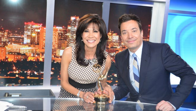 Lin Sue Cooney and Jimmy Fallon talked about his show in Arizona on Super Bowl Sunday.