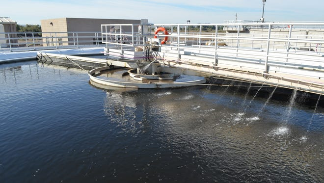 With the $55 million purchase of Global Water, Buckeye is able to provide better quality water to 7,000 customers, have more control over the service and facilitate economic development in a central area of the city. Pictured is the Central Wastewater Treatment Facility in Buckeye.