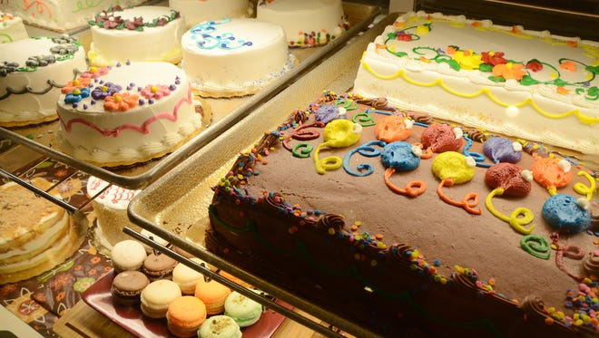 Cakes at Continental Pastries and Deli, 928 W. Columbia Ave.