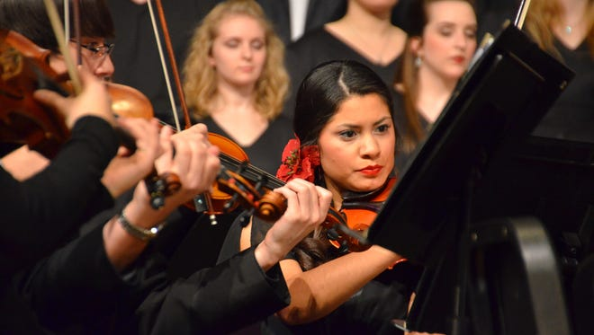Evangel University Ensembles will present their 33rd Annual Christmas Concert on Dec. 2