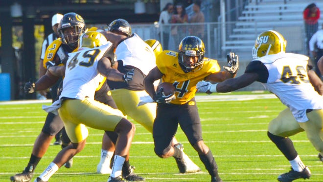 Grambling takes its 8-0 SWAC record into Saturday's tilt with Southern in the annual Bayou Classic.