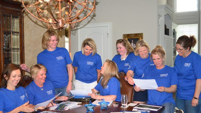 The Mary's Magical Place team continues to work on fundraising for the all-inclusive playground in Hendersonville.