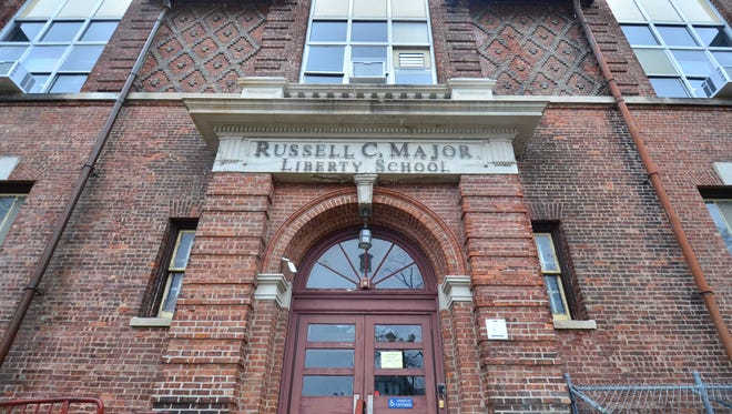 The Russell C. Major Liberty School on Tenafly Road in Englewood.
