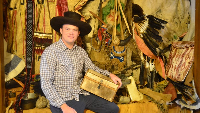 Gallatin resident Michael Agee creates clothes, bags and other goods made in the Frontier era of U.S. history.