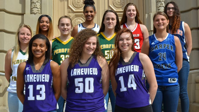 The Battle Creek Enquirer All-City Girls Basketball Team is voted on by city coaches and the Enquirer sports staff.