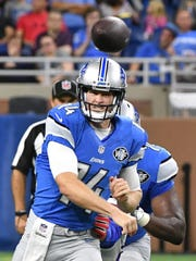 Lions quarterback Jake Rudock was promoted to the active