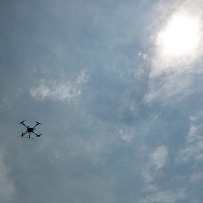 The drone that the Wood County Sheriff's Department