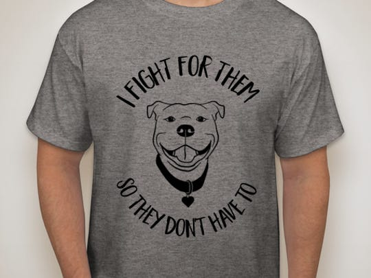A Grand Ledge resident is selling shirts to support two animal shelters that are caring for a combined 53 pit bulls. The animals were seized this year during what's still an ongoing dogfighting investigation.