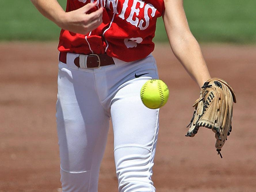 Highland pitcher Katie Springer, pictured last season, boasts a 20-4 record and 1.09 ERA this summer for the Huskies, who begin regional play on Wednesday.