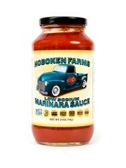 Hoboken Farms' low sodium sauce.