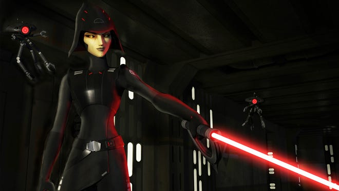 """Sarah Michelle Gellar voices the sinister Seventh Sister in the new season of """"Star Wars Rebels."""""""