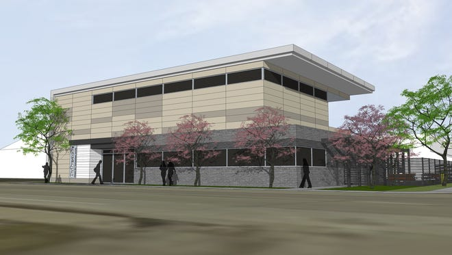The 11,000-square-foot Outreach facility for homeless youth is expected to open next spring at 2416 E. New York St.