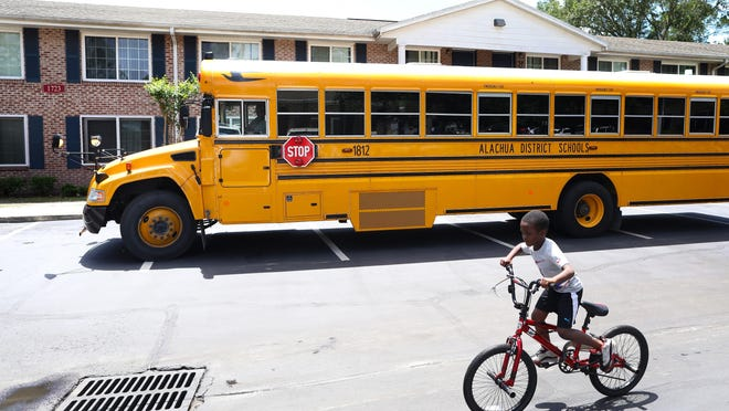 Alachua County Public Schools is asking parents to choose a plan for their kids for the first nine weeks of the fall semester.